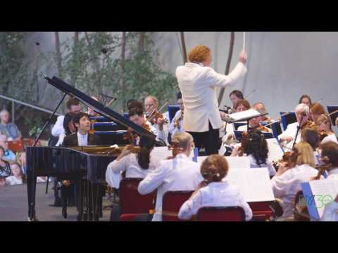 Haochen Zhang plays Rachmaninoff with The Philadelphia Orchestra