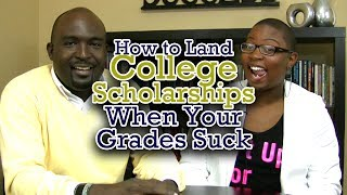 "Finding College Scholarship for ""C"" Students - Kantis Simmons with Felecia Hatcher"
