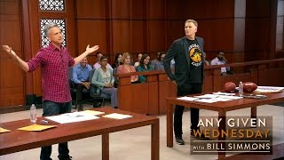 The Deflategate Trial - Simmons v. Rapaport with Judge Joe Brown (HBO)