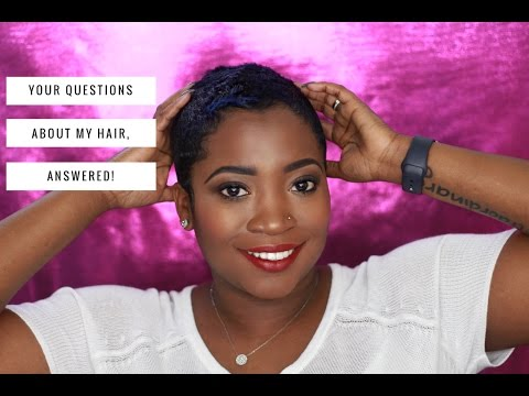 CUT? COLOR? RELAXER? YOUR QUESTIONS ABOUT MY HAIR, ANSWERED! | THEHAIRAZORTV