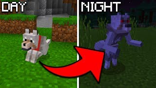 How To Spawn a Werewolf in Minecraft Pocket Edition at Night (Mythic Mobs Addon)