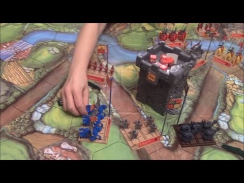 Board Game In Action: Battle Masters (Milton Bradley)