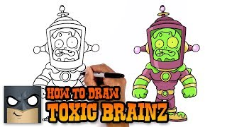 How to Draw Toxic Brainz | Plants vs Zombies | Awesome Drawing Tutorial