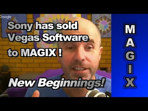 MAGIX Software has bought 90% of Sony Vegas Software product range