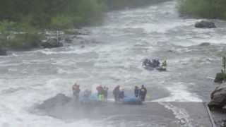 Whitewater rafting Ocoee River, Tennessee