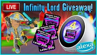 Ninja Legends Pet Giveaway With Alexa! | Infinity Lord Pet Giveaway LIVE (2/23)