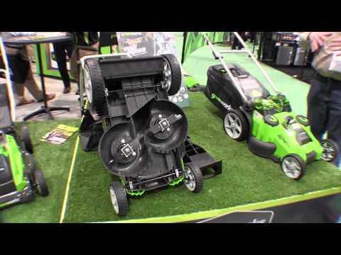 Greenworks Electric Lawn Mower Repair - Mower resets breaker does