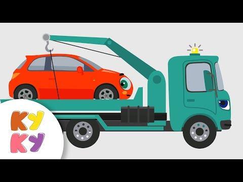 КУКУТИКИ - Сборник про Машины - Кукутики  - Люли, Машинка, Рабочие машины, Светофор,
