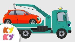 КУКУТИКИ - Сборник про Машины - Кукутики  - Люли, Машинка, Рабочие машины, Светофор, thumbnail