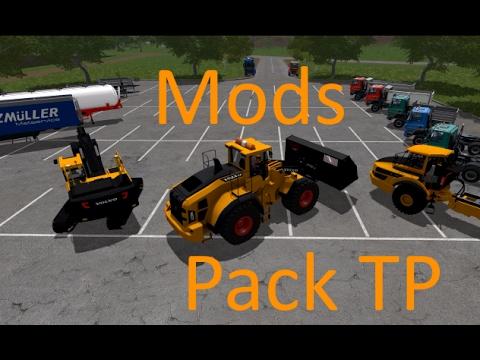 Fs17 pr sentation de mods sp cial travaux public for Pack travaux