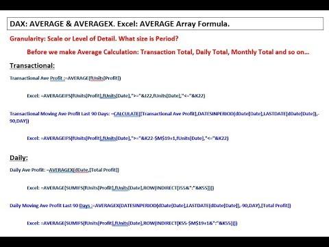 Dax Average