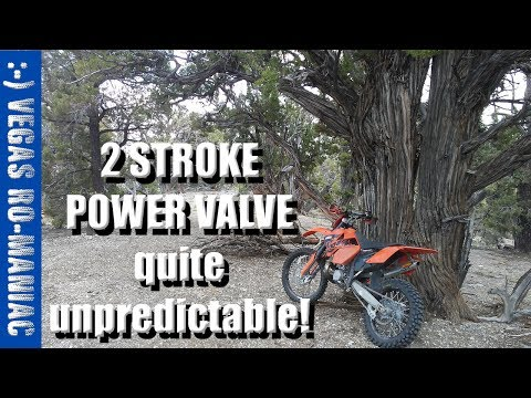 2 STROKE Academy - Power Valve on a KTM 250 XC - I find it difficult to control