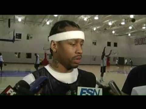 Allen Iverson highlights vs Bucks 08/09 NBA *Missed Practice Coming off the bench *Crossover on Lue