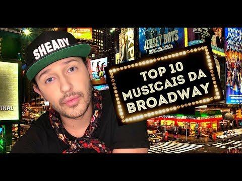Top 10 musicais da Broadway