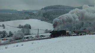 Mit dem Dampfzug der Eisenbahnfreunde Treysa nach Erndtebrück