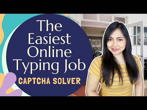 Earn By Solving 1000 Captcha Images | Homebased Jobs