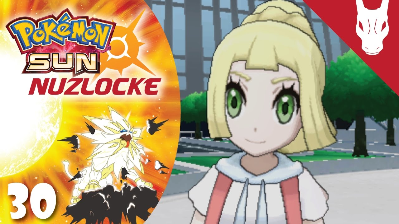 Z Powered Lillie! - Pokemon Sun Nuzlocke Challenge EP 30 - YouTube