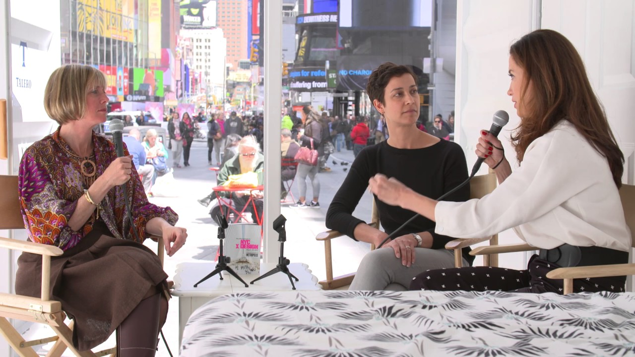Hub Culture Times Square 2017 - Shannon Jaax, Claudia Gonzales Romo and Edie Lush
