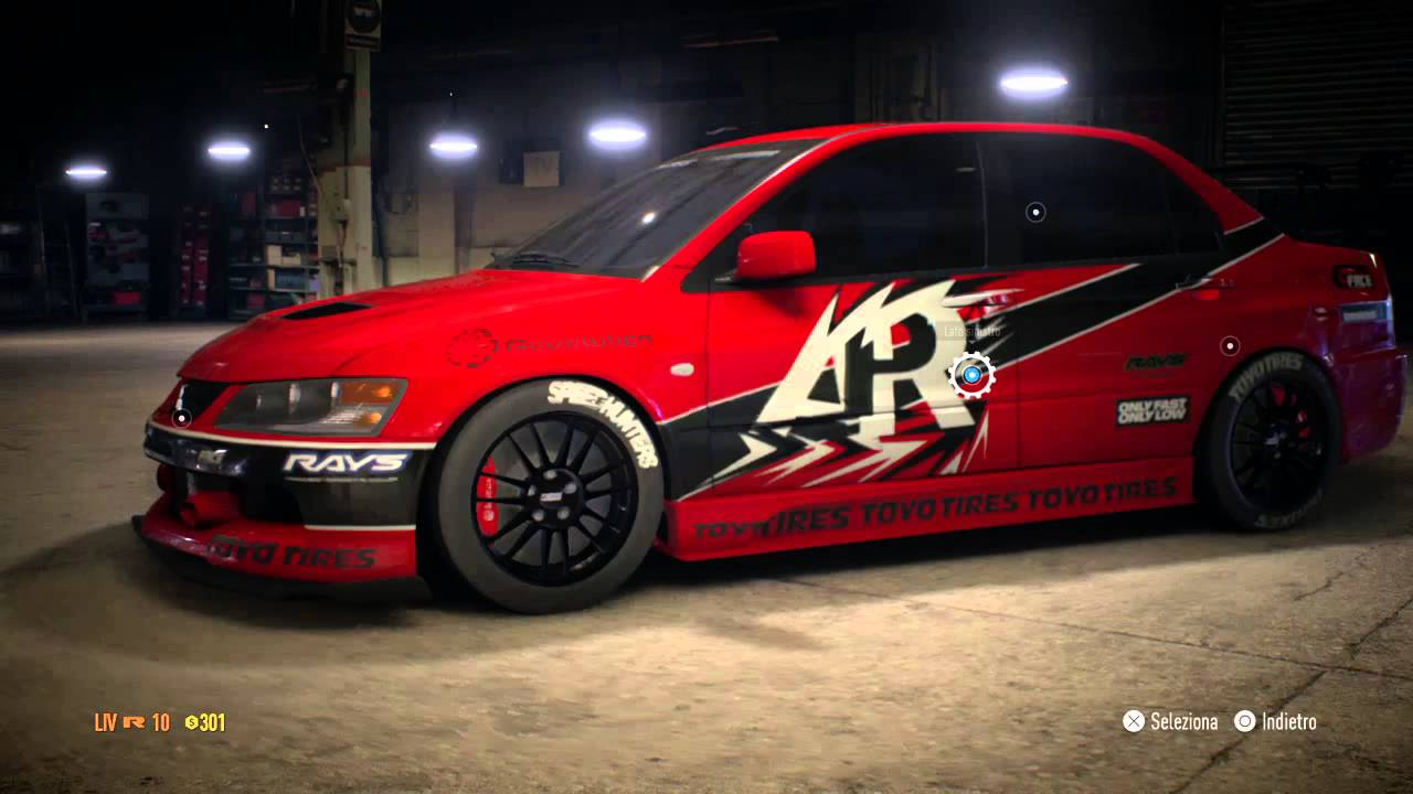 Need for Speed  2015 Mitsubishi Lancer Evolution MR Tokio Drift