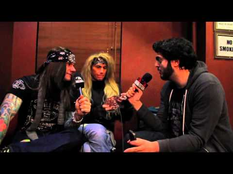 STEEL PANTHER Interview with Metal Injection 2012