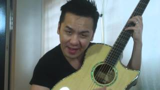 New Maestro Victoria IR Cutaway Guitar Review in Singapore