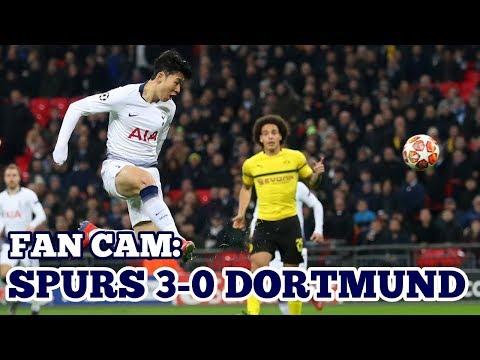 FAN CAM: Tottenham 3-0 Borussia Dortmund: Heung-Min Son 손흥민孫興慜 Scores, Spurs Win 1st Leg: 13/02/19 Mp3