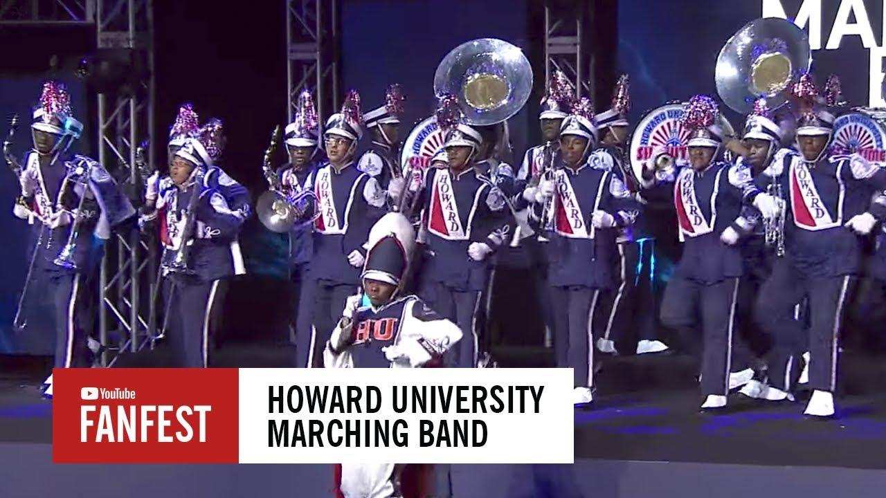 Howard University Marching Band @ #YouTubeBlack FanFest Washington D C  2017