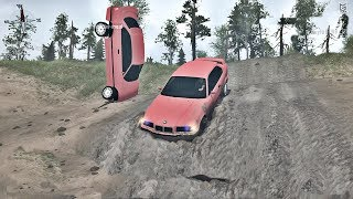 Szaleństwo bez Końca ! BMW Daje Rade !  Crazy Mods SpinTires MudRunner #1