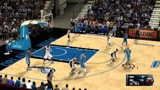 NBA 2K11 Demo Gameplay Denver Nuggets vs Orlando Magic [HD] Xbox 360 PS3