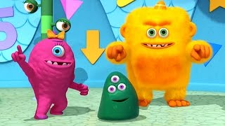 Monster Math Squad | FULL EPISODE | Woofie Goes Walkies | Learning Numbers Series