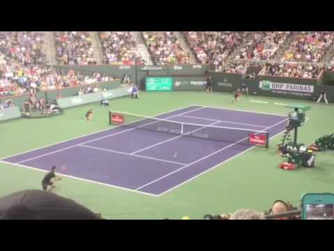 Andy Murray loses to Vasek Pospisil BNP march 2017