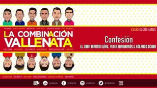 CONFESION  El Gran Martín Elías, Peter Manjarrés & Rolando Ochoa