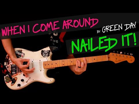 Basket Case - Green Day guitar cover by GV + chords - YouTube
