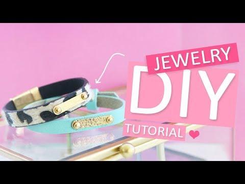 DIY Tutorial – Label op armband met schroefjes bevestigen - Zelf sieraden maken