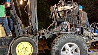 Rebuilding A Wrecked Jeep Rubicon Part 6