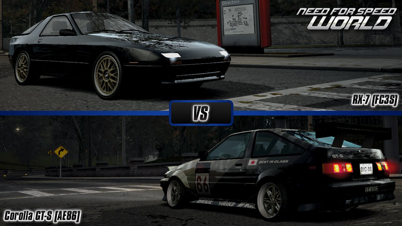 how to get ae86 in nfs carbon