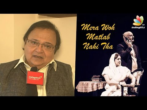 Rakesh Bedi Talks on ''Mera Woh Matlab Nahi Tha'' | Mani Ratnam | Full Interview