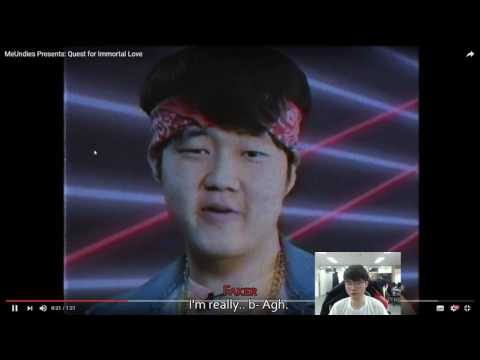 When Faker watches Huni's undie commercial