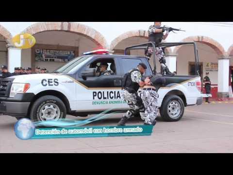 Demostración de actividades policíacas