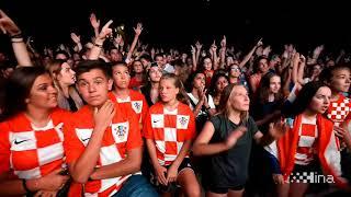 Gledanje polufinalne utakmice Hrvatska – Engleska u Splitu