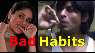 Top 9 Bollywood Celebrities With Bad Habits