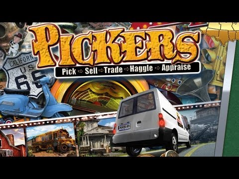 Pickers: First day as an Antique Picker, Trader, whatever :)