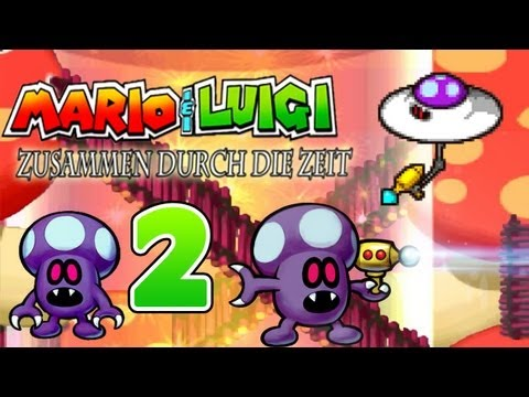 Let's Play Mario & Luigi Zusammen durch die Zeit Part 2: Chancenlose Klempnerbrüder