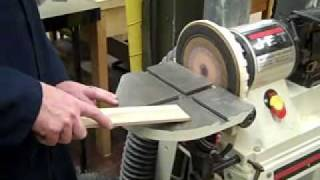 Tutorial On Basic Disc And Belt Sander Use