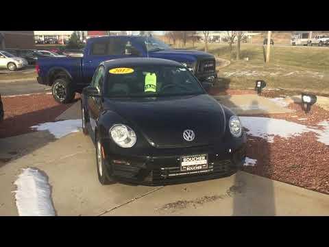 Chuck's New 2017 VW Beetle