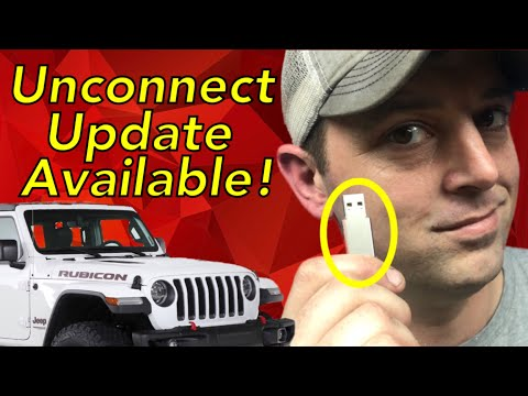 How To Update Uconnect Radio With USB 2018 Jeep Wrangler JL