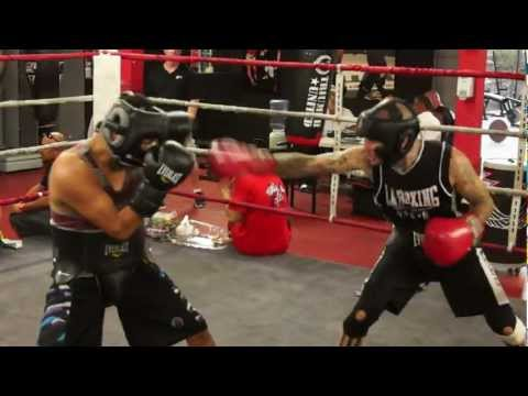 Alan Roach - Sparring @ Legacy Training Center 9/20/2012