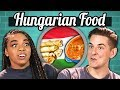 COLLEGE KIDS EAT HUNGARIAN FOOD | College Kids Vs. Food