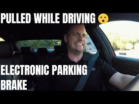 What Happens If I Pull The Electronic Parking Brake While Driving