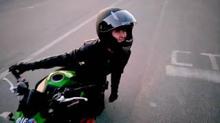 Стабилизация мотоцикла. Свешивание внутрь поворота на мотоцикле